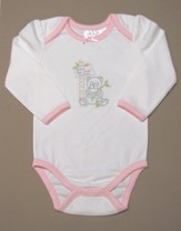 Jesus Loves the Little Children Romper, Girl, 6-9 Months