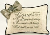 Love Is Linen Pillow