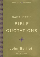 Bartlett's Bible Quotations, slightly imperfect