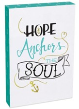 Hope Anchors the Soul Wall Plaque