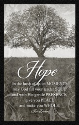 Hope In the Quiet Moments Magnet