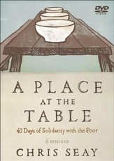 A Place at the Table: 40 Days of Solidarity with the Poor, DVD