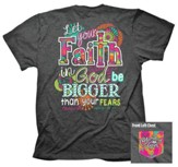 Big Faith Shirt, Gray, 3X-Large