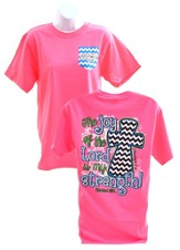 Joy Of The Lord Shirt, Pink, Large