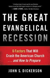 The Great Evangelical Recession: 6 Factors That Will Crash the American Church . . . and How to Prepare - Slightly Imperfect