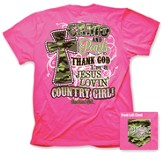 Camo And Pearls Shirt, Pink, Large