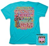 She Is Clothes In Strength and Dignity Shirt, Blue, XXX-Large