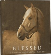 Textured Print - Blessed are those...
