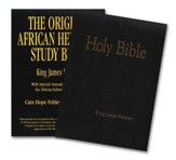 The Original African Heritage Study Bible (KJV); leatherette