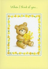Thinking of You Shining Light Greeting Cards, Box of 12