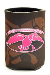Duck Commander Can Cooler Brown and Pink Duck Commander Series