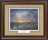 Singin' On The Mountain, Framed Print