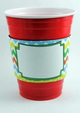 Spring Chevron Party Sleeves