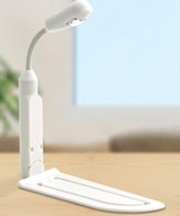 LED E-Reader Book Light, White