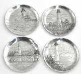 Lighthouse Coasters, Set of 4