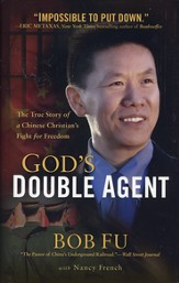 God's Double Agent: The True Story of a Chinese Christian's Fight for Freedom - Slightly Imperfect