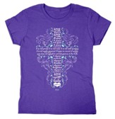 Love Is Patient Shirt, Purple, XXX-Large