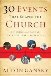30 Events That Shaped the Church: Learning from Scandal, Intrigue, War, and Revival - Slightly Imperfect