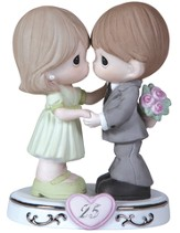 Precious Moments, Through the Years 25th Anniversary Figurine