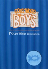 God's Word for Boys, Duravella Blue/Light Blue