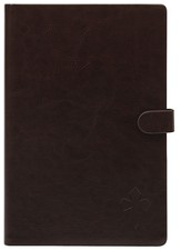 eReader Cover with Cross for Nook Color, Brown