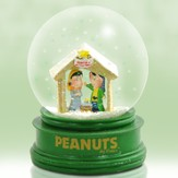 Peanuts Nativity Snowglobe