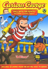 Curious George: Sails with Pirates and Other Capers! DVD