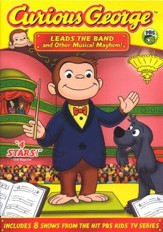 Curious George Leads the Band and Other Musical Mayhem! DVD