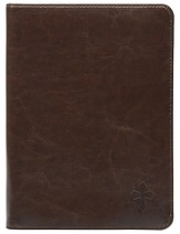 Universal eReader Cover, Cross, Brown