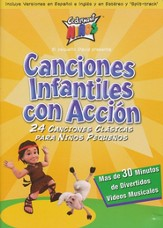 Canciones Infantiles con Acción  (Toddler Action Songs), DVD