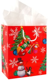 VeggieTales Christmas Gift Bag, Small