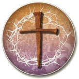 Cross, Crown of Thorns Auto Coaster