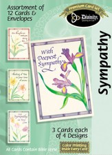 With Deepest Sympathy Cards, Box of 12