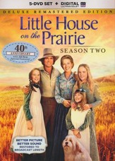 Little House on the Prairie: Season 2 - Deluxe Remastered Ed.,  DVD/Digital Ultraviolet