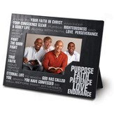 Purpose, Faith, Patience, Love, Endurance Photo Frame