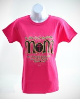 Christian Mom 2 Shirt, Pink, Large