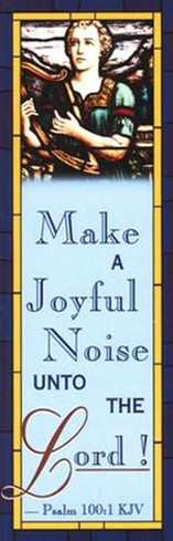 Make a Joyful Noise Bookmark (Package of 25)