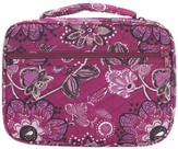 Floral Quilted Bible Cover, Pink, Large