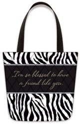 Blessed To Have A Friend Like You, Tote-Shaped Magnet