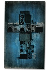 Make Noise Wood Box Print