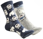 Polar Bear and Eskimo Mix n' Match Socks