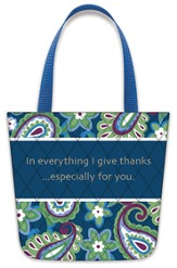 In Everything Give Thanks, Tote-Shaped Magnet