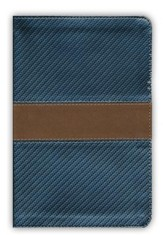 KJV Study Bible for Boys Granite/Copper, Metallic Design Duravella