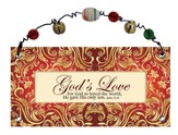 God's Love Plaque