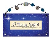 O Holy Night Plaque