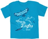 Wings Like Eagles, Shirt, Blue, Youth Medium