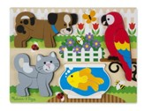 Chunky Jigsaw Puzzle, House Pets, 20 pieces