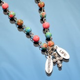 Strength & Life--Cross Necklace