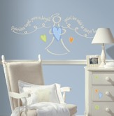 Guardian Angel, Boy, Vinyl Wall Stickers