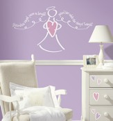 Guardian Angel, Girl, Vinyl Wall Stickers
